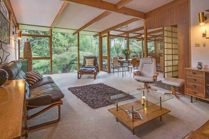 A Modernist Original (Deceased Estate) Architect Ewen Wainscott 1960's, Titirangi, Auckland NZ