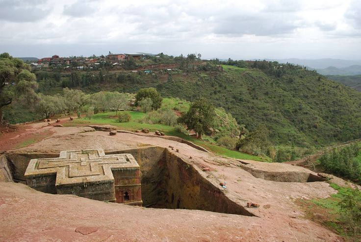 Lalibela ethiopia churches carved in stone by hand wow