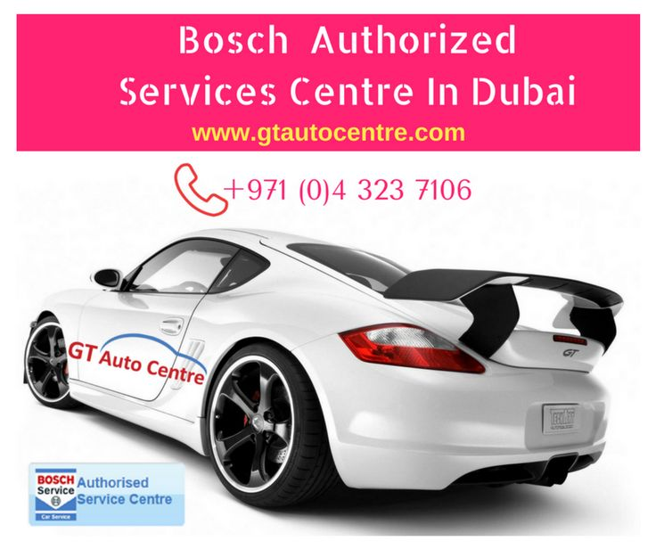 Bosch Car Service Center Dubai