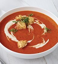 CAMPBELL'S® RESERVE ROASTED RED PEPPER & SMOKED GOUDA BISQUE - CampbellFoodservice.com