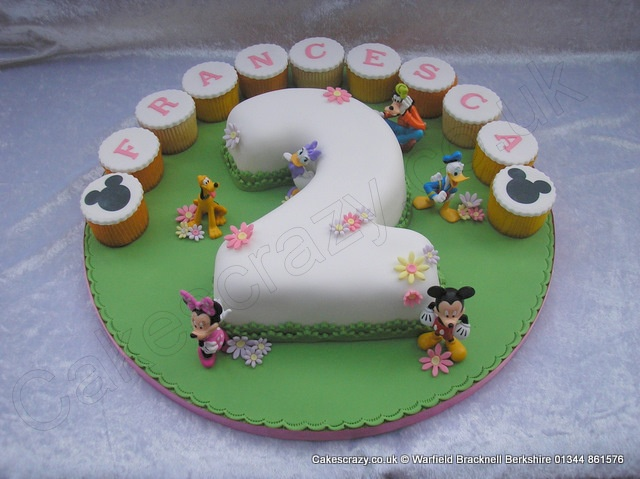 Number 2 Shaped Cake : 25+ best Number 2 Cakes ideas on Pinterest Second ...