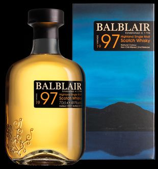 Balblair 1997 2nd Release from Whisky Please.