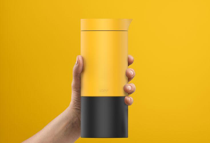 Kettle Flask Design on Behance