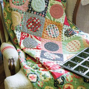 LOVE this quilt from Quick Quilts! Working on it right now.