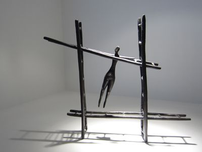 Melissa Young - Jungle Gym (2007) - bronze, ed. of 8