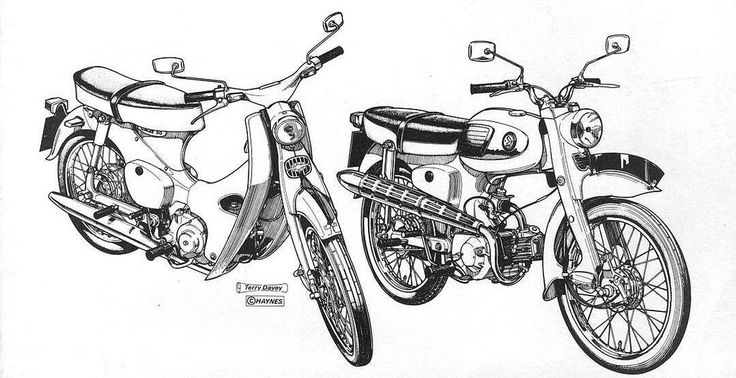 464 best Vintage Honda Motorcycles images on Pinterest