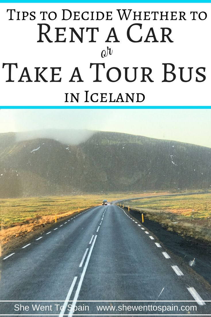 Iceland is a magical place with lots to see. Deciding whether to rent a car or take a tour bus in Iceland can be a big decision.