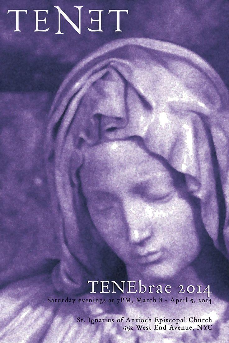 Program booklet for TENET NYC's 2014 Tenebrae Concert Series  http://www.tenetnyc.com/