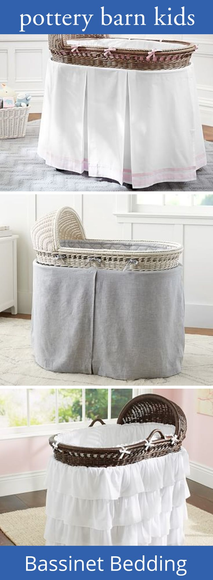 Baby cribs richmond va - Pottery Barn Kids Features Bassinet Bedding And Bassinet Sheets Find Cradle Bedding And Crib Sheets And Create A Cozy Baby Nursery