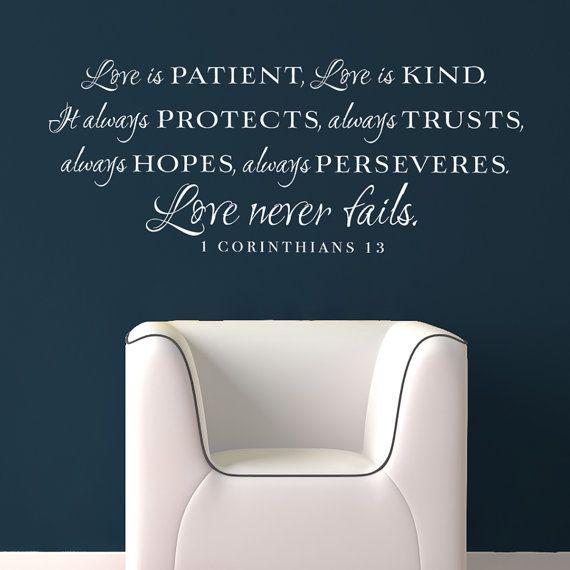 21 best Love is images on Pinterest | Bible scriptures, Bible ...
