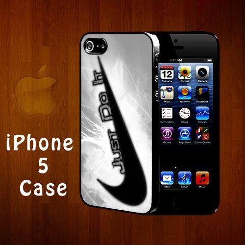N2550 Just Do it Nike logo iphone 5 case | statusisasi - Accessories on ArtFire