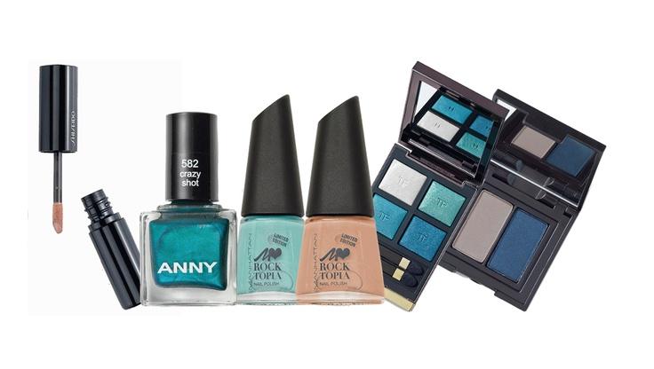 Trendfarbe Blau für das Herbst-Make-up | annabelle (Foto: Fotostudio annabelle / Redaktion: Isolde Burtscher)