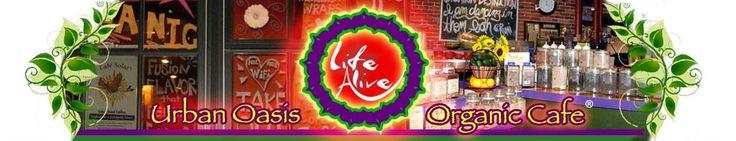 Life Alive Menu