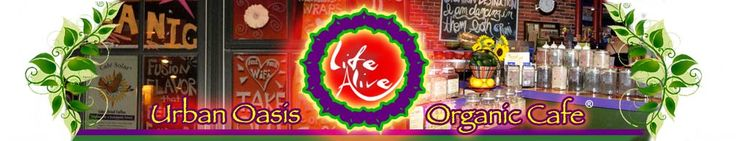 Life Alive Menu (lots of ideas)