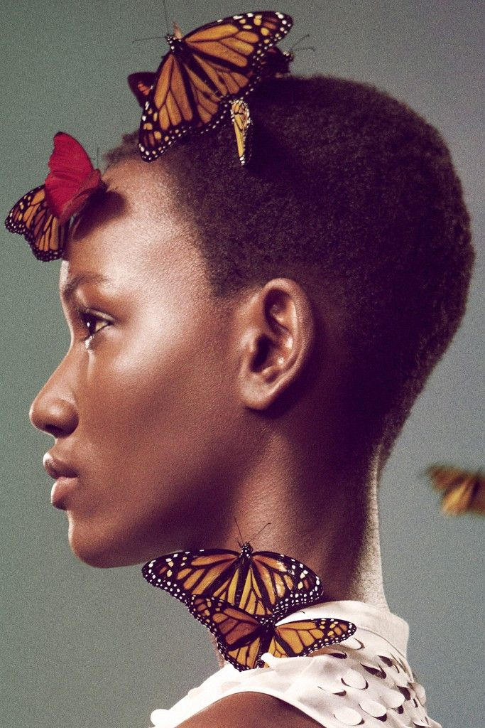 Ryan McGinley Shoots Edun's First Ad Campaign Using Six Species Of Butterfly.