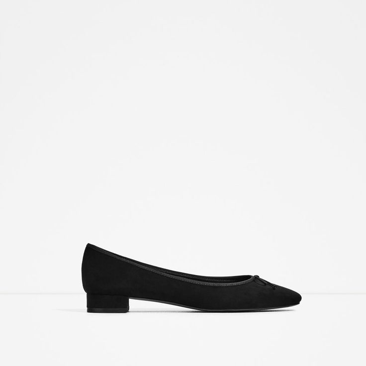 HEELED BALLERINAS-Flats-SHOES-WOMAN | ZARA United States