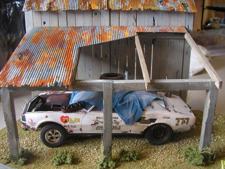 Grumpys toy barn find muscle cars modeling subjects