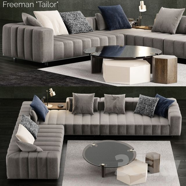 Minotti Freeman Tailor Sofa 2 Living Room Sofa Design Sofa Design Modern Sofa Living Room