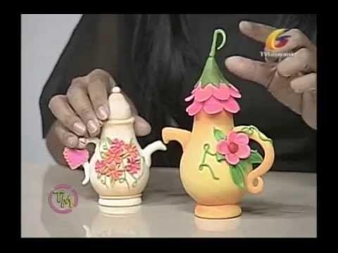 (28) Bombillos decorados por: Yusleidys Gonzalez (Taller de manualidades) - YouTube