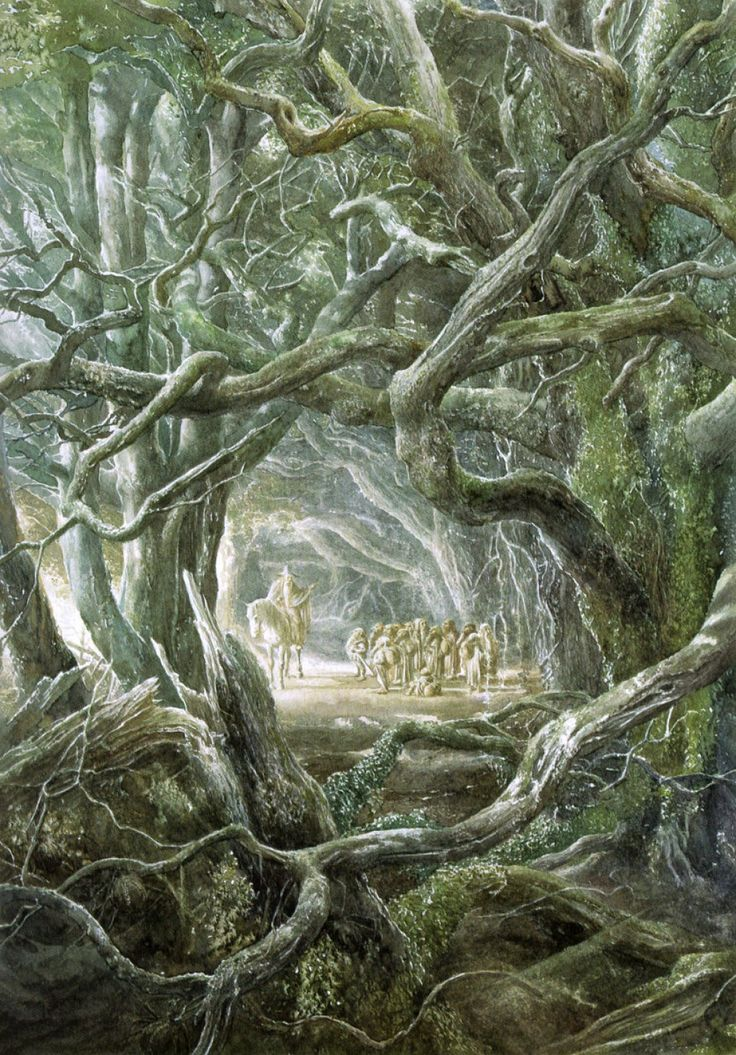 A tribute to Alan Lee, best known as the illustrator of J.R.R. Tolkien's The Hobbit and The Lord of the Rings.