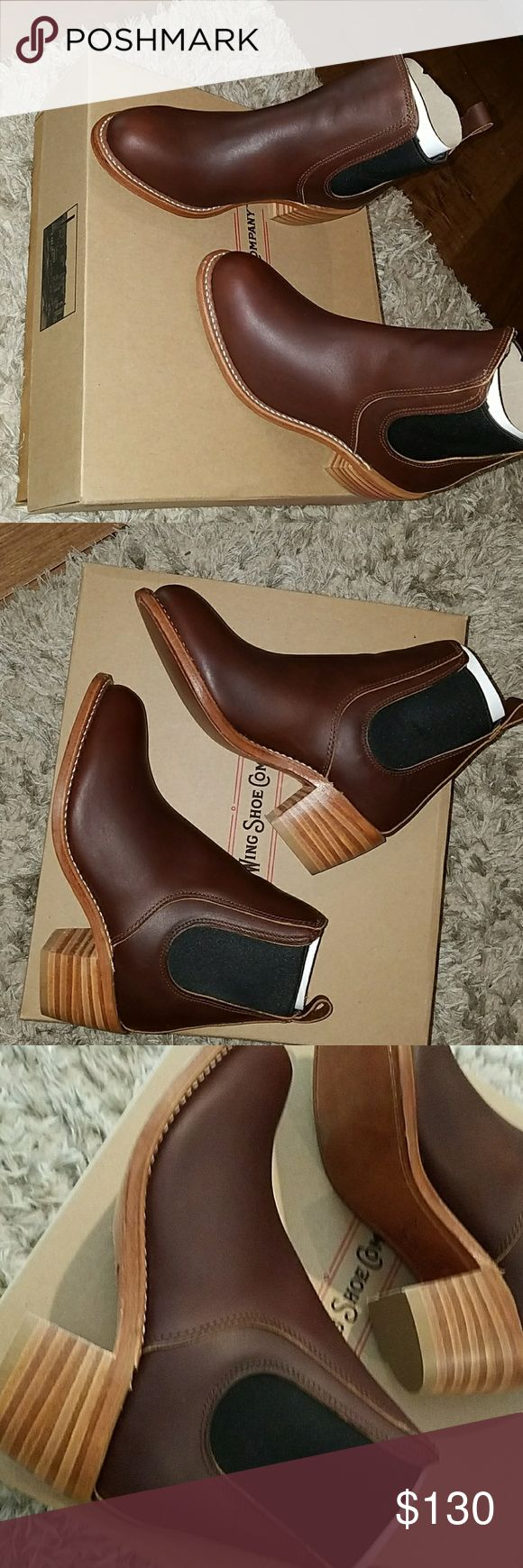 Red wing boots Real leather mahogany boots Red Wing Shoes Shoes Ankle Boots & Booties