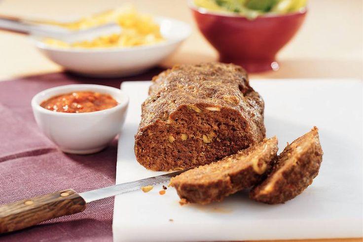 Mediterraan gehaktbrood - Recept - Allerhande