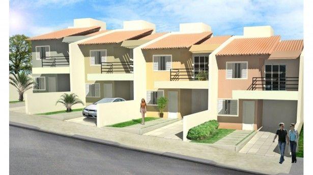 Modelos de casas geminadas fotos decor projetos casas for Modelo de casa para 4 personas