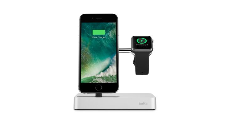 Charge your Apple Watch and iPhone with just one cable using the Belkin Charge Dock. Buy online now at apple.com