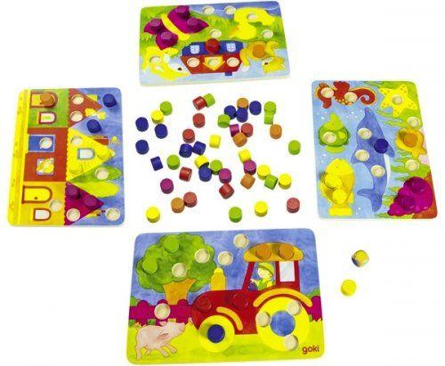 Επιτραπέζιο παιχνίδι συμπλήρωσης χρωμάτων/ Color dice game