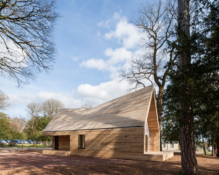 Gallery of Wolfson Tree Management Centre Mess Building / Invisible Studio - 1