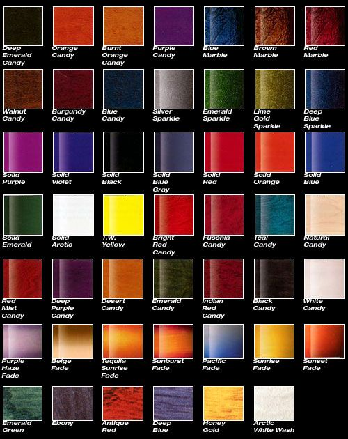 PPG Colors...