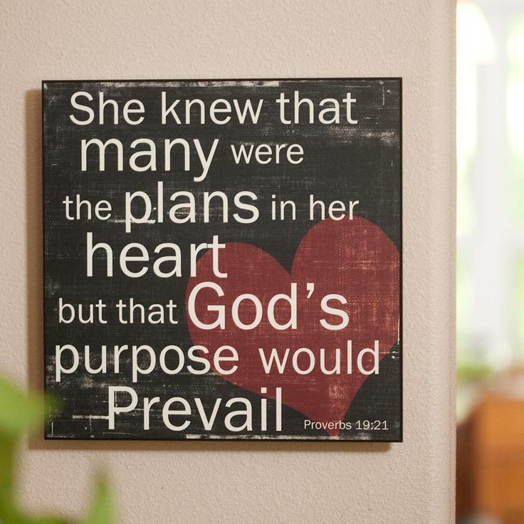 proverbs 19:21: A Quotes