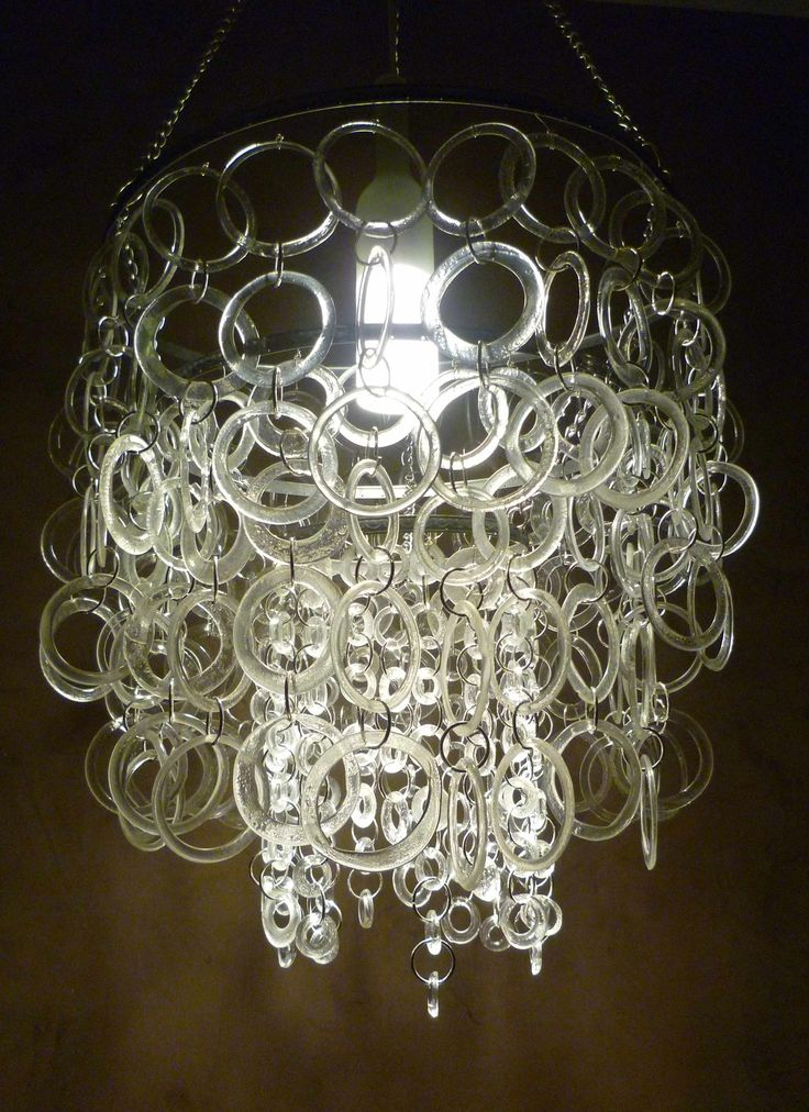 how to clean a plastic chandelier