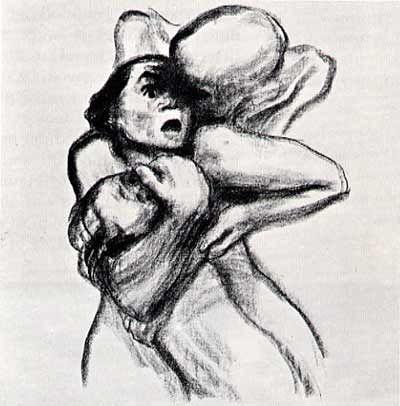 Käthe Kollwitz (1867-1945), Death and the Mother