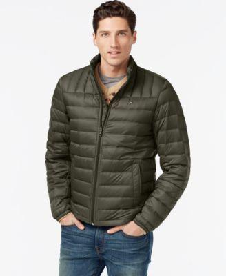 TOMMY HILFIGER Tommy Hilfiger Nylon Packable Jacket. #tommyhilfiger #cloth # coats