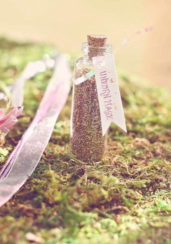 Unicorn Magic Glitter Favor | Sweet Jelly Parties | Bekah Peace Photography