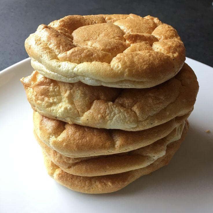 Pan-pancake con uova e yogurt greco al forno