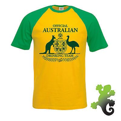 #Official #australian drinking team #t-shirt joke funny oz aus australia day gift,  View more on the LINK: http://www.zeppy.io/product/gb/2/182177716577/