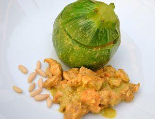 Giuli Foodie: Zucchine Ripiene di Dadolata di Pollo al Curry e P...