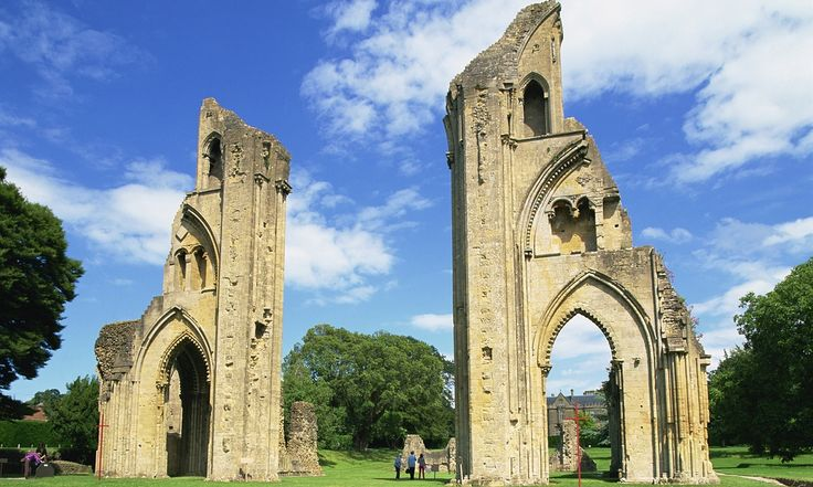 Archaeological study dismisses abbey's links to King Arthur and Joseph of Arimathea, saying many stories were created to raise funds after a fire