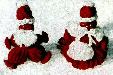 Knitting Patterns For Christmas Brooches : 98 best images about Vintage Christmas Knitting on Pinterest Jumpers, Fair ...
