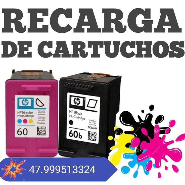 Recarga De Cartucho Impressoras Laser Ou Jato Tinta