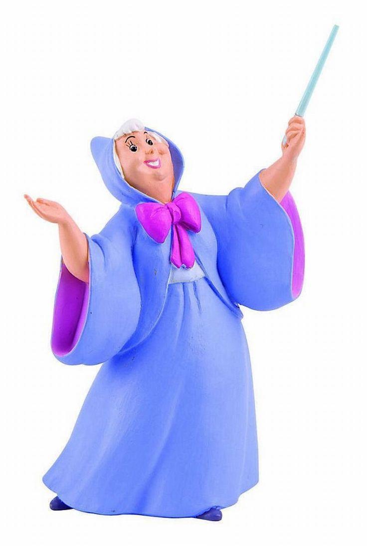 Figurines Disney du fabricant de figurines Bullyland #figurine #fée #féemarraine #cendrillon