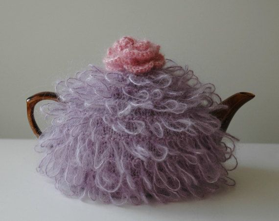 Loopy teapot cosy by KororaCrafters on Etsy