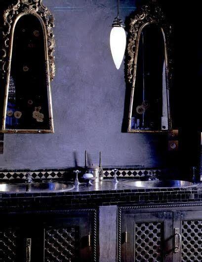 bathroom by riad obra marrakesh