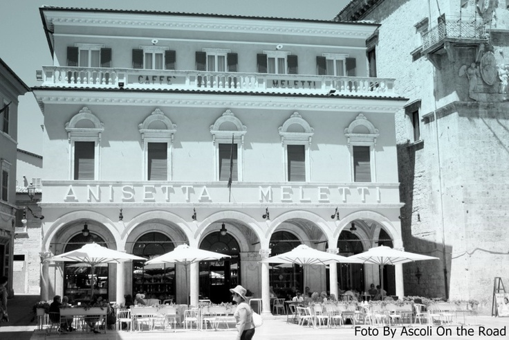 Meletti Cafè: one of the most beautiful and ancient cafès in Italy and it is located in downtown Ascoli Piceno. Here you can taste a delicious drink called Anisetta Meletti..It's unforgettable!