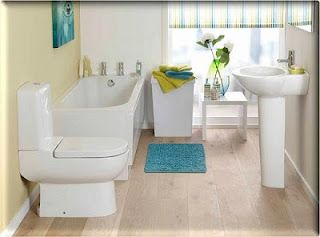 The Real Simplicity: Compact Small Bathroom : Small Space Bathroom Design  Ideas