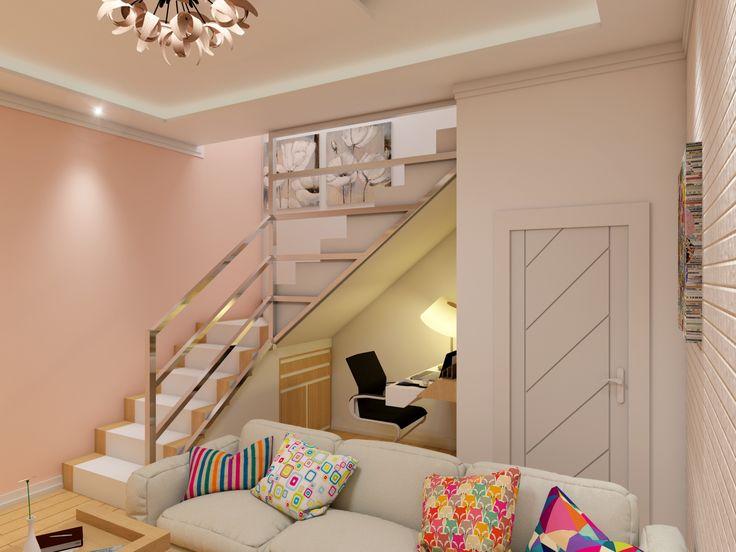 Sala - Porão Projeto de Arquitetura - Ilo Soluções em Arquitetura - Casa Jaçana