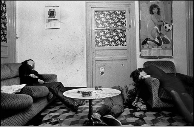The triple murder of a prostitute and her clients, Palermo, 1982, Letizia Battaglia