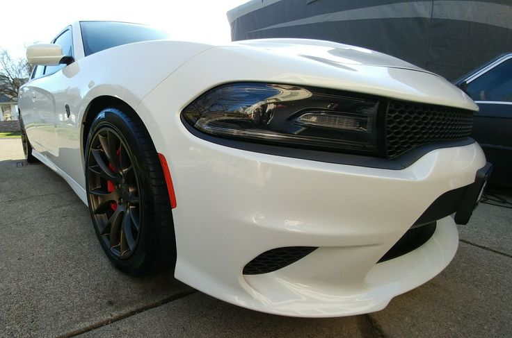 Dtail of a 2017 Dodge Charger Hellcat. http://www.facebook.com/dtailsauto